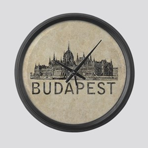 Budapest Large Wall Clock