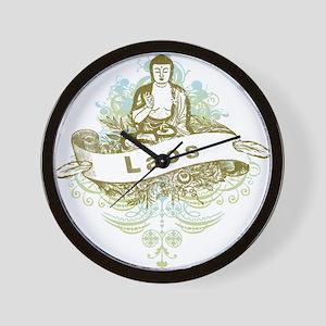 Buddha Laos Wall Clock