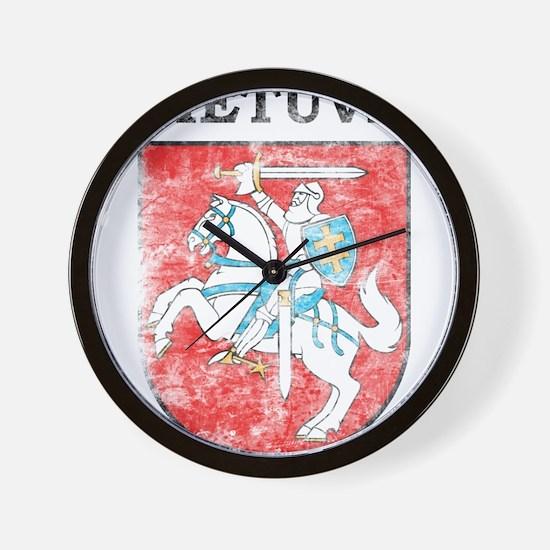 Vintage Lietuva Wall Clock