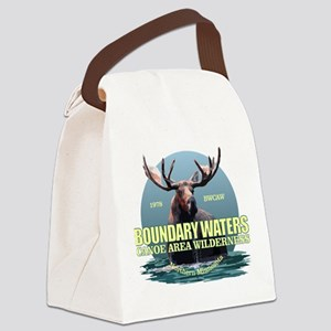 Boundary Waters Canvas Lunch Bag