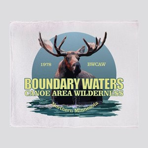 Boundary Waters Throw Blanket