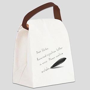 Dear Editor Canvas Lunch Bag