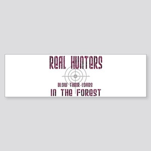 Real Hunters Bumper Sticker