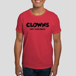 Clowns Taste Funny Dark T-Shirt
