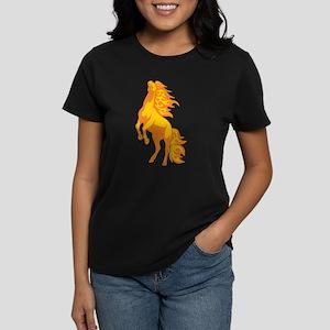 Horse Women's Dark T-Shirt