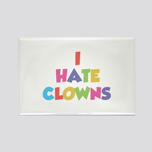 I Hate Clowns Rectangle Magnet