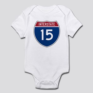I-15 Highway Infant Creeper