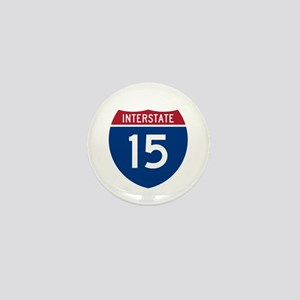 I-15 Highway Mini Button