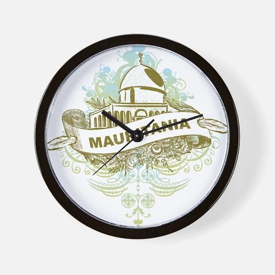 Mosque Mauritania Wall Clock