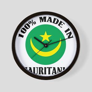Made In Mauritania Wall Clock