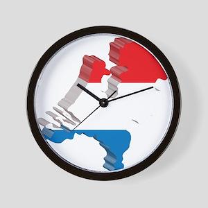 3D Netherlands Wall Clock