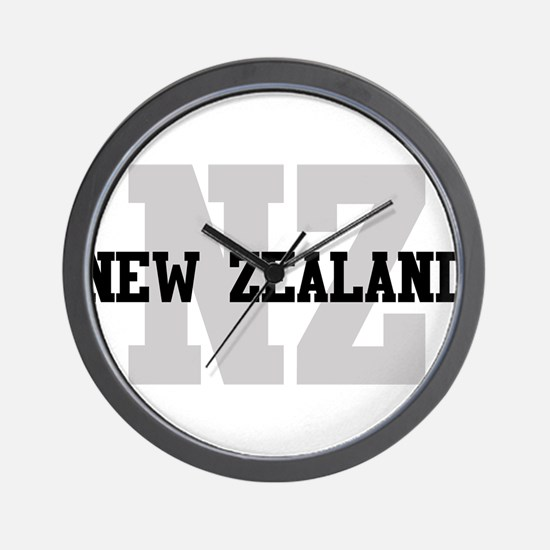 NZ New Zealand Wall Clock