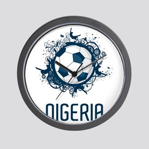 Nigeria Football Wall Clock