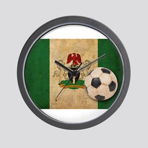Vintage Nigeria Football Wall Clock