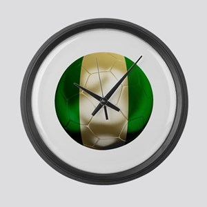 Nigeria World Cup Large Wall Clock