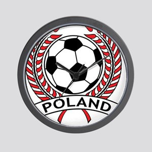 Poland Soccer Wall Clock