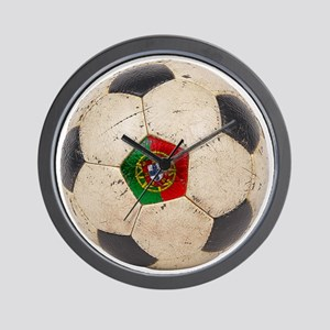 Portugal Football Wall Clock