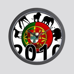 Portugal World Cup Wall Clock