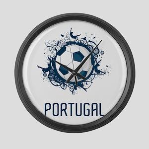 Portugal Football Large Wall Clock