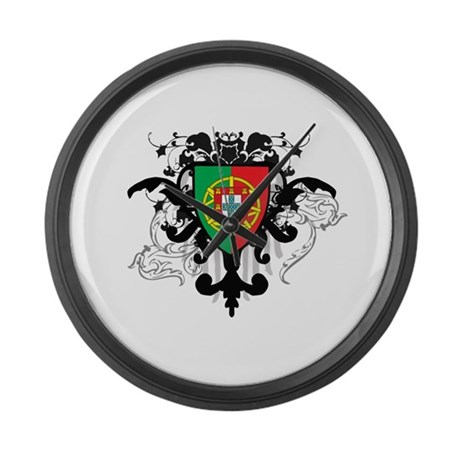 Stylish Portugal Large Wall Clock