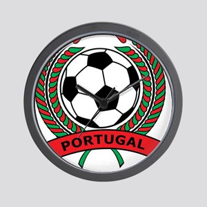 Soccer Portugal Wall Clock