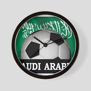 Football Saudi Arabia Wall Clock
