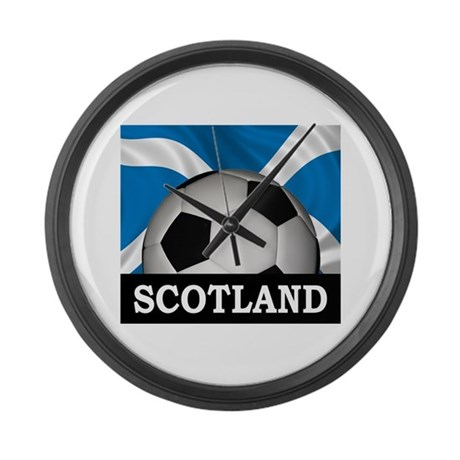 Football Scotland Large Wall Clock