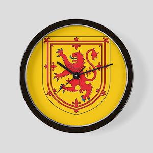 Scotland Emblem Wall Clock