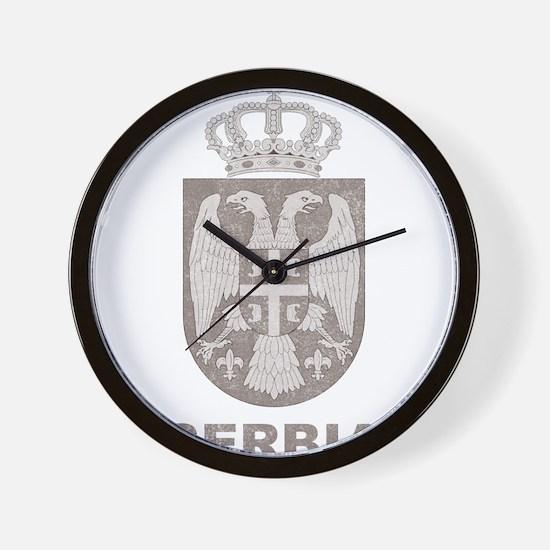 Vintage Serbia Wall Clock