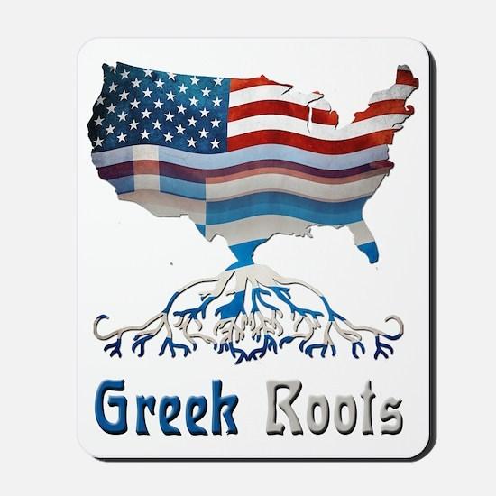 American Greek Roots Mousepad