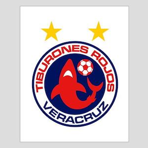 Tiburones Rojos de Veracruz Small Poster