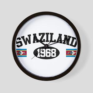 Swaziland 1968 Wall Clock