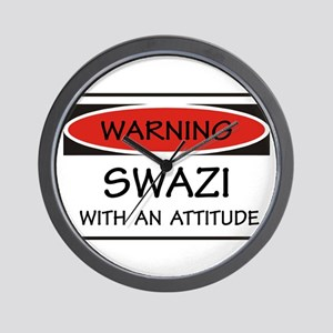 Attitude Swazi Wall Clock