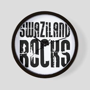 Swaziland Rocks Wall Clock