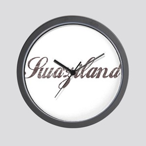 Vintage Swaziland Wall Clock