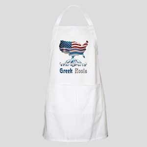American Greek Roots Apron