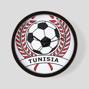 Soccer Tunisia Wall Clock