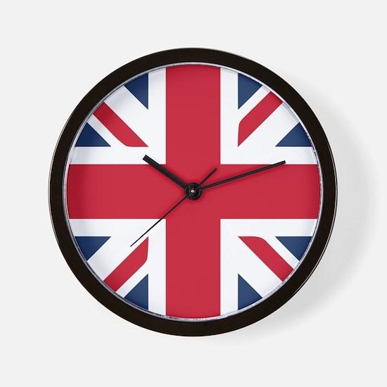 Classic Union Jack Wall Clock