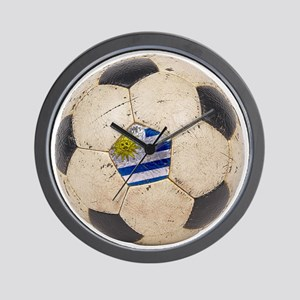 Uruguay Football Wall Clock
