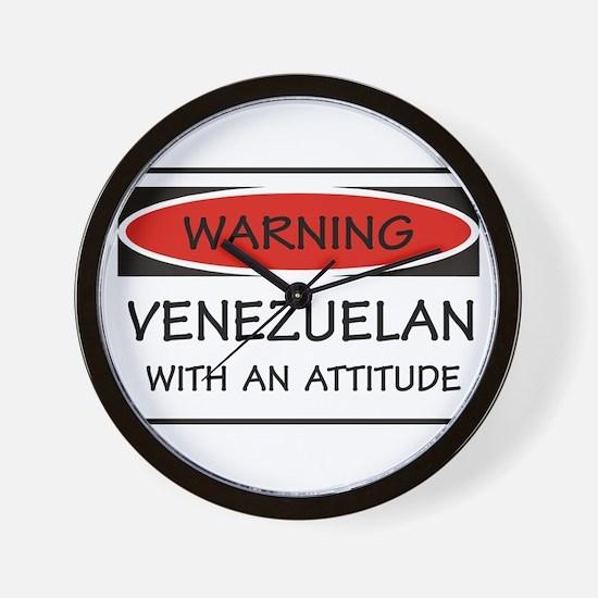 Attitude Venezuelan Wall Clock