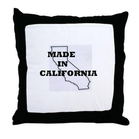 MADE IN CALIFORNIA Throw Pillow
