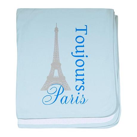 Paris Toujours baby blanket