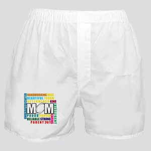What is a Rugby Mom copy Boxer Shorts