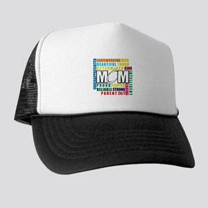 What is a Rugby Mom copy Trucker Hat