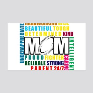 What is a Rugby Mom copy 35x21 Wall Decal