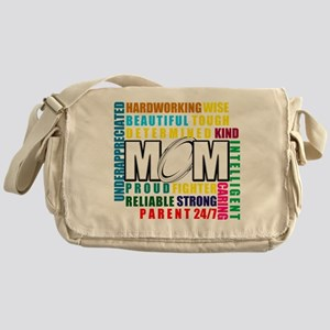 What is a Rugby Mom copy Messenger Bag