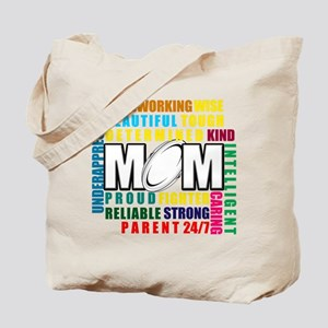 What is a Rugby Mom copy Tote Bag