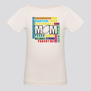 What is a Rugby Mom copy Organic Baby T-Shirt