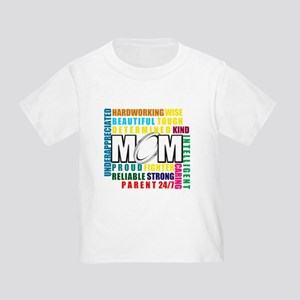 What is a Rugby Mom copy Toddler T-Shirt