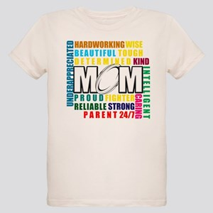 What is a Rugby Mom copy Organic Kids T-Shirt